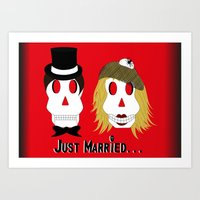 Marriage... Art Print