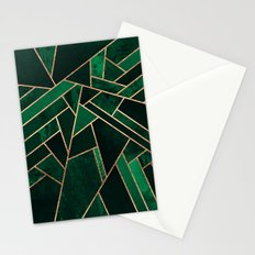 Emerald Night Stationery Cards