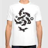 Werewolfs Mens Fitted Tee White SMALL