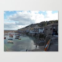 Mousehole, Cornwall Canvas Print