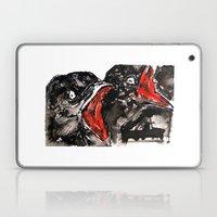 Crow Mouth Laptop & iPad Skin