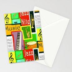 RazzMaTazz Jazz Nite. Stationery Cards