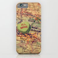 iPhone & iPod Case featuring All Mine New Orleans by CAPow!