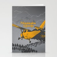 Mountains Hide In Clouds… Stationery Cards