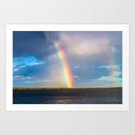 Art Print featuring Magnificent Rainbow by Svetlana Korneliuk