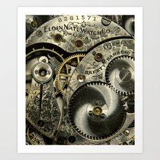 Clockwork Homage Art Print