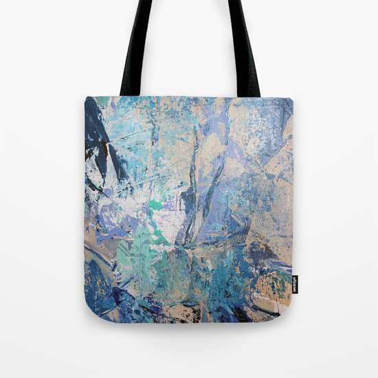 Clash of Tides (3 of 3) Tote Bag