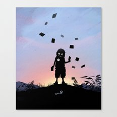 Joker Kid Canvas Print