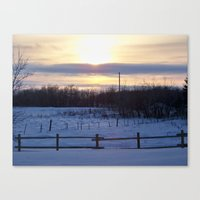 In The Middle Of Nowhere… Canvas Print