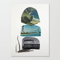 I'll take you there as soon as I hit the big time, promise Canvas Print