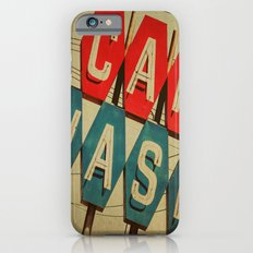 Retro Car Wash Sign iPhone 6s Slim Case