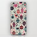 Birds and Baubles  iPhone & iPod Skin