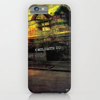 iPhone & iPod Case featuring children do not stop by Mayara Viana