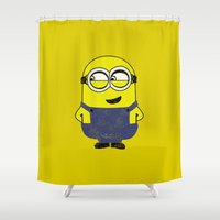 MINION (COLORS) Shower Curtain