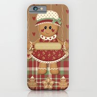 Gingerbread Country Christmas iPhone 6 Slim Case