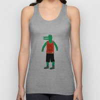 Alligator wants to play Unisex Tank Top