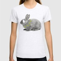 Rabbit My Way Womens Fitted Tee Ash Grey SMALL