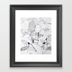 Birdwatcher Framed Art Print