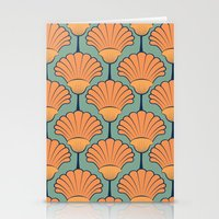 Deco Shells Stationery Cards