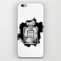 CC Noir iPhone & iPod Skin