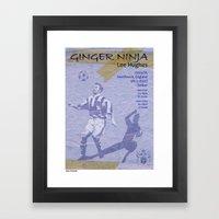 Ginger Ninja - Lee Hughes Framed Art Print