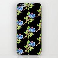 Wild Maine Blueberries Allover Print iPhone & iPod Skin