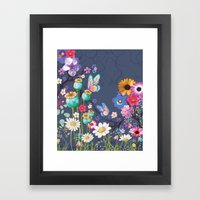 Glowing 2 Framed Art Print