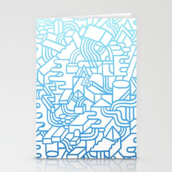 Wave Machine Stationery Card
