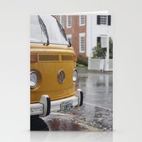 vw Stationery Cards featuring VW by Karen Herder