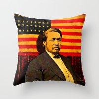 Ely Samuel Parker Throw Pillow