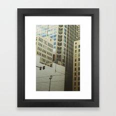 Minneapolis Collage Framed Art Print