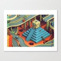Culture Apparatus @ Exit… Canvas Print