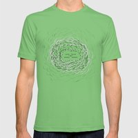 IRONIC Mens Fitted Tee Grass SMALL