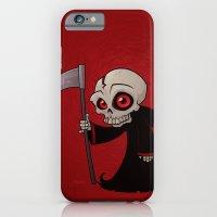 iPhone & iPod Case featuring Little Reaper by John Schwegel