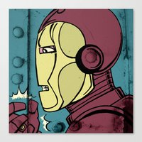 Armor Man Canvas Print