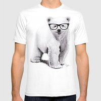 Polar Disorder Mens Fitted Tee White SMALL