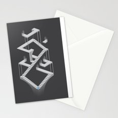 Monument Maze 2 Stationery Cards