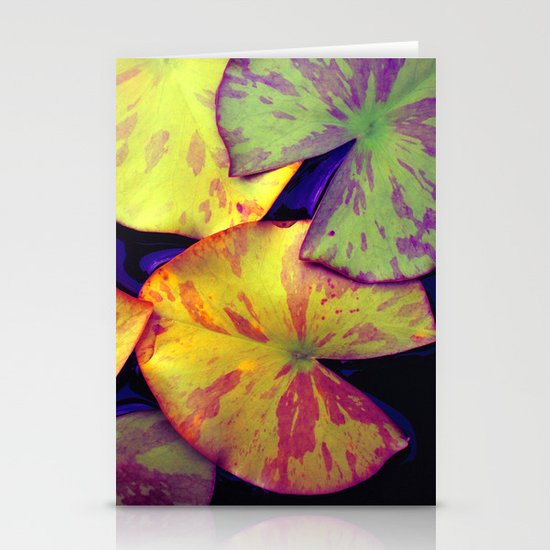 lily pads IIX Stationery Card