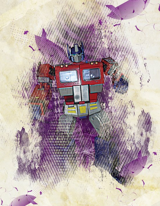 G1 - Optimus Prime Art Print