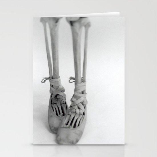 Skeleton Pointe Stationery Card