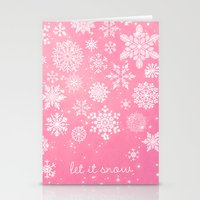 Let It Snow - Let It Sno… Stationery Cards