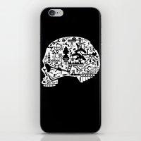 Icon Skull iPhone & iPod Skin