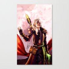 Dragon Age Inquisition - Aspen the elvish mage Canvas Print