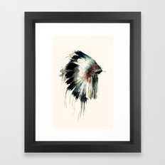 Headdress Framed Art Print
