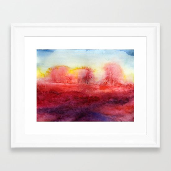 Where I End And You Begin Framed Art Print