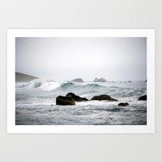 Ocean Line Art Print