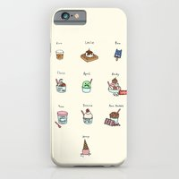 iPhone & iPod Case featuring Parks and Rec Ice Cream by Tyler Feder
