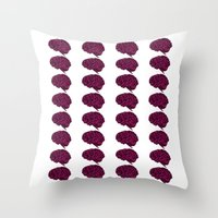 BRAIN (LOGO REPEATER) Throw Pillow