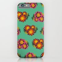 iPhone & iPod Case featuring Flowers For Lola [bunches] by Veronica Galbraith
