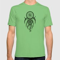 Dreamcatcher Mens Fitted Tee Grass SMALL